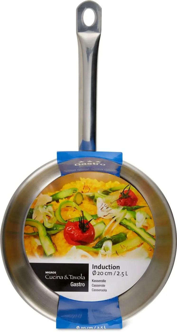 cucina tavola gastro casserole 20cm