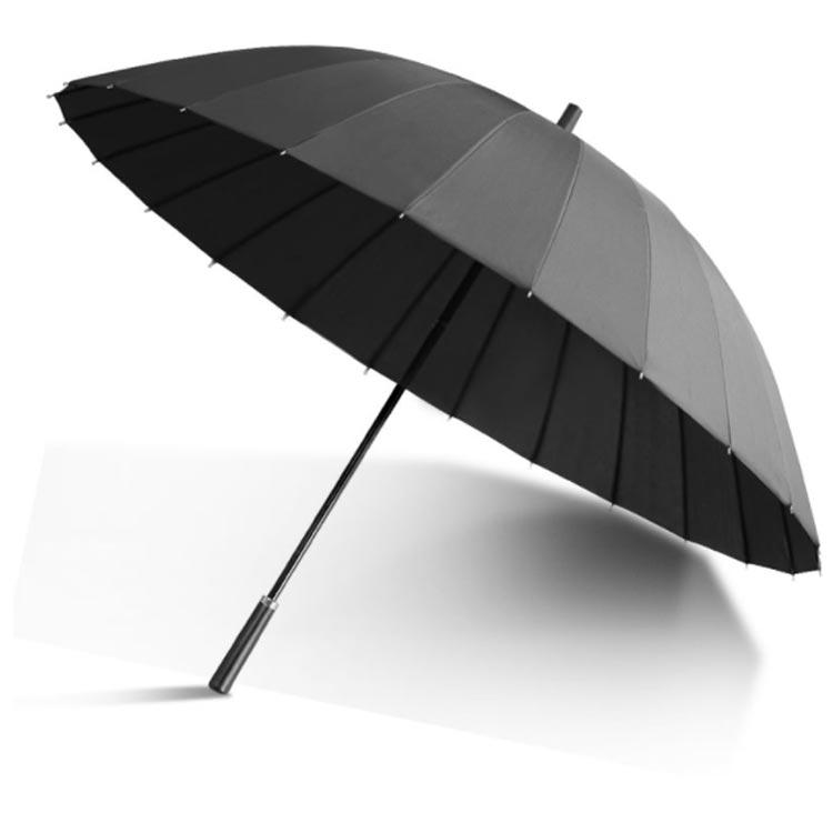 minana / 傘 長傘 日傘 70cm/24本 強化グラスファイバー傘骨 耐強風 130cm広い傘面 3人カバー可能 撥水加工 大きな ...