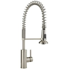 Pull Out Spray Kitchen Faucet Commercial Shelving Mirxcps100ss Presidio Stainless Steel