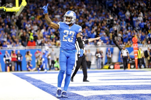 Darius Slay wanted to be named an All-Pro. He got his wish -- and brought a friend with him in Jamal Agnew. (Mike Mulholland   MLive.com)