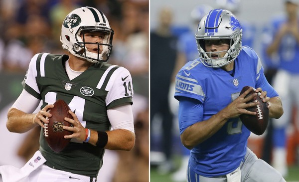 Image result for monday night football lions vs jets