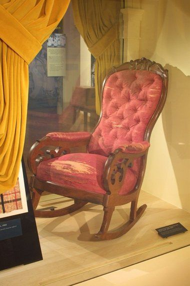 How Abraham Lincolns assassination chair ended up in