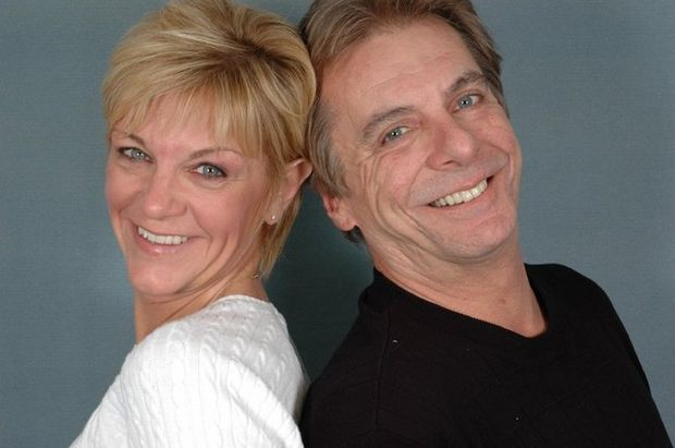 Local radio station 96 WHNN holds its morning show at