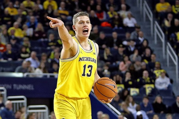 NBA mock drafts undecided on Michigans Moritz Wagner