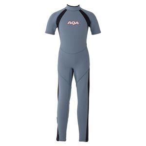 AQA(アクア) キッズスーツ シーガルII KW4505A スモークブルー×マットブラック150