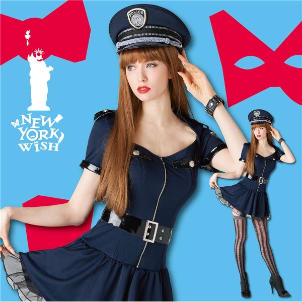 【コスプレ】 New York Wish(ニューヨークウィッシュ) コスプレ ワンピースポリス Sサイズ NYW_1502 4560320840442 ハロウィン コスプレ 衣装店