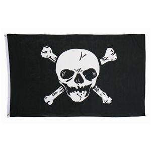 ハロウィンコスプレ 【Jolly Roger Flag】 フラッグ1枚入り 重量100g 〔イベント ライブ〕