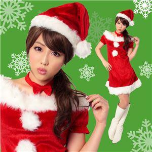 【クリスマスコスプレ 衣装】ジェニーサンタ Ladies