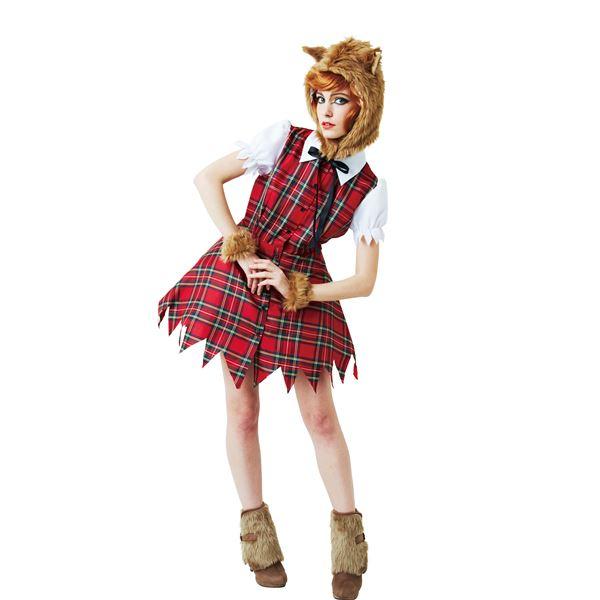 【ハロウィンコスプレ】ウルフガール  ハロウィンコスプレ衣装店