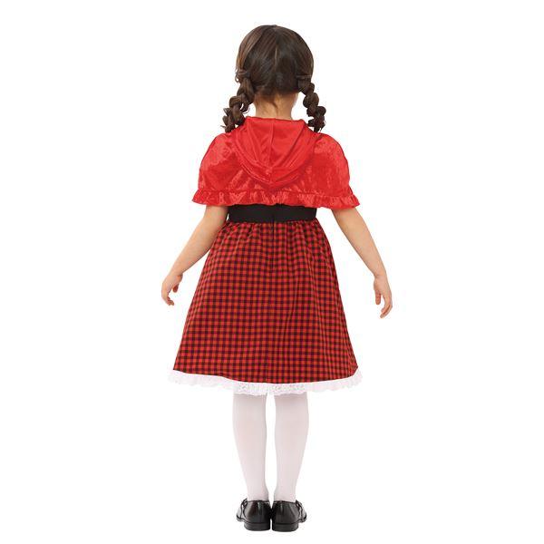 【コスプレ】kirakira レッドケーププリンセス キッズ 120   ハロウィン コスプレ 衣装店