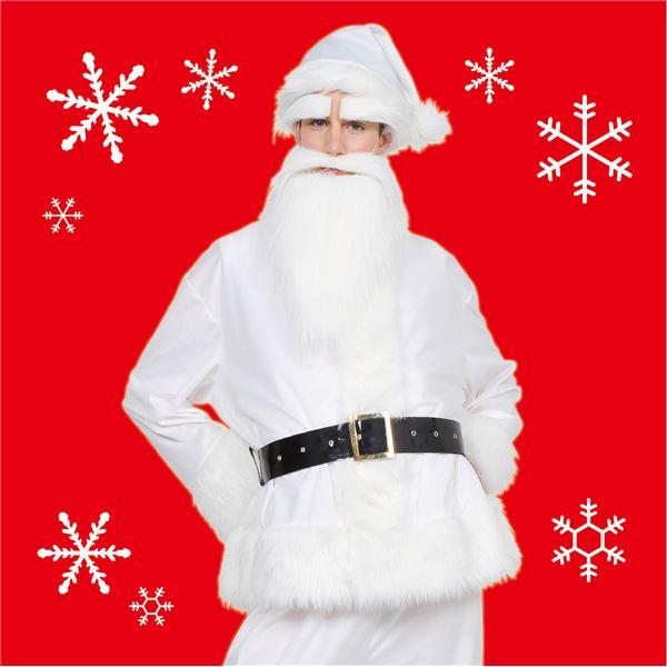 【クリスマスコスプレ 衣装】 GOGOサンタサン(ホワイト) ハロウィン コスプレ 衣装店