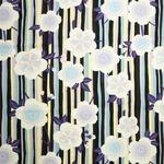 coco-cloth小風呂敷 縞桜 紫