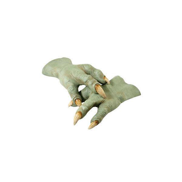 【コスプレ】 RUBIE'S(ルービーズ) 2406 Yoda Latex Hands(スターウォーズ) ヨーダ  ハロウィン コスプレ 衣装店
