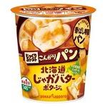【まとめ買い】ポッカサッポロ じっくりコトコト こんがりパン 北海道じゃがバターポタージュ (カップ) 32.3g×18カップ(6カップ×3ケース)