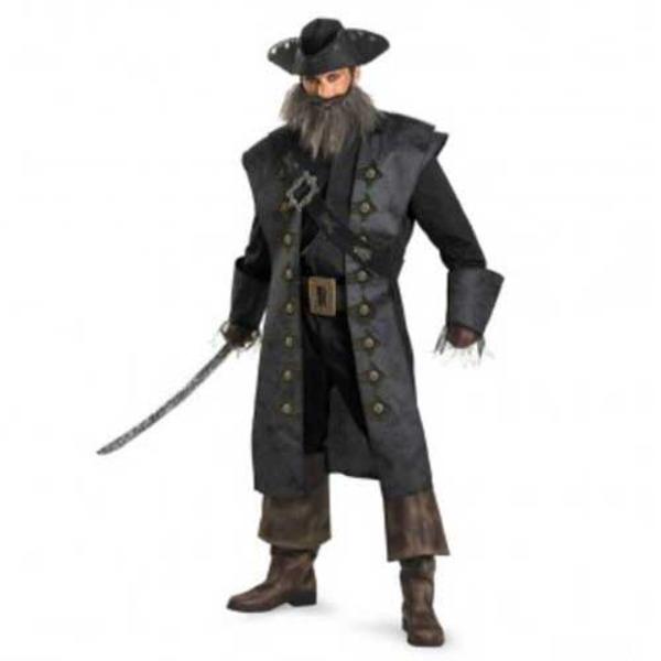 ディズニー DISNEY 黒ひげの海賊 ブラックベアード XXL 大人用 ハロウィン コスプレ 衣装店