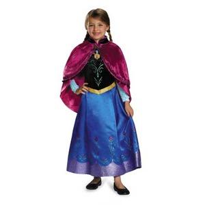 ディズニー DISNEY アナと雪の女王 アナ 旅の衣装 子供用S コスチューム