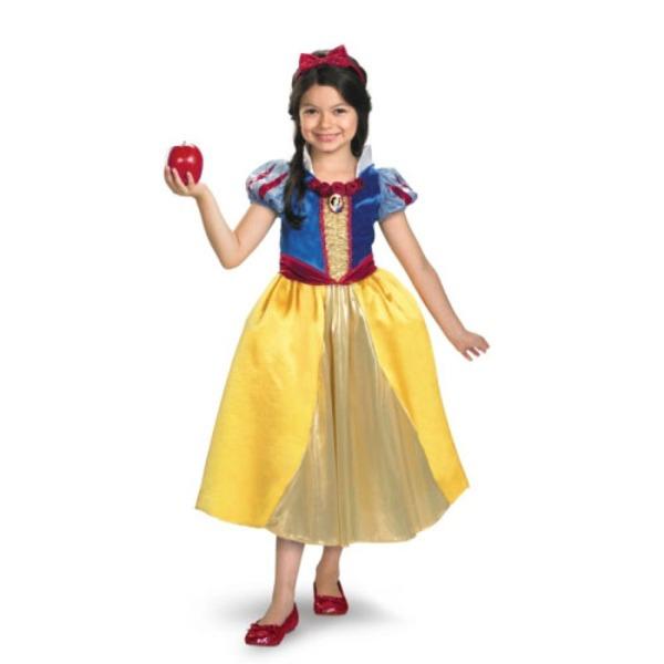 ディズニー DISNEY スノーホワイト 白雪姫 シマーコスチューム チャイルドM ハロウィン コスプレ 衣装店