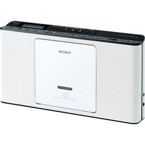 SONY CDラジオ ホワイト ZS-E80/W