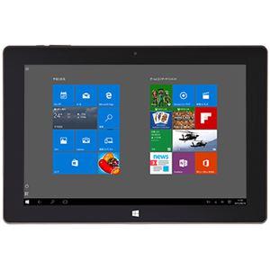TEKWIND 10.1インチ Windows 10搭載 カバー兼キーボード付属タブレット CLIDE W10A(Atom Z3735F搭載) W10A-W10HBK2