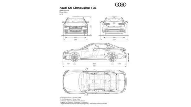 Audi S6 und S7 (2019) mit V6-TDI und e-Turbo vorgestellt