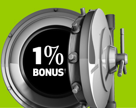 1% Bonus†