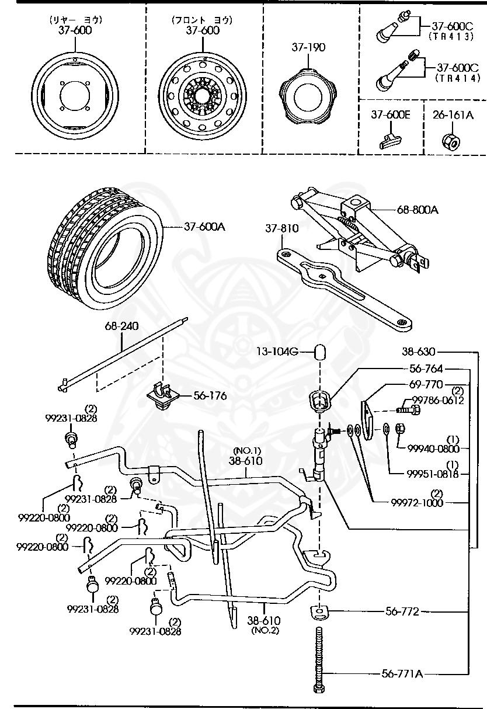 [DIAGRAM] Mazda Bongo Electrical Wiring Diagram FULL