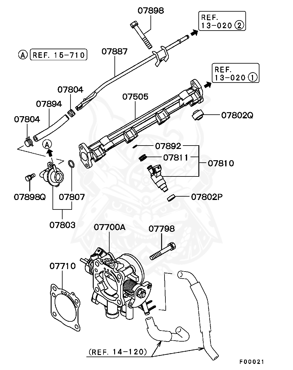 2000 Mitsubishi Eclipse R Fuel Injector Wiring Schematic
