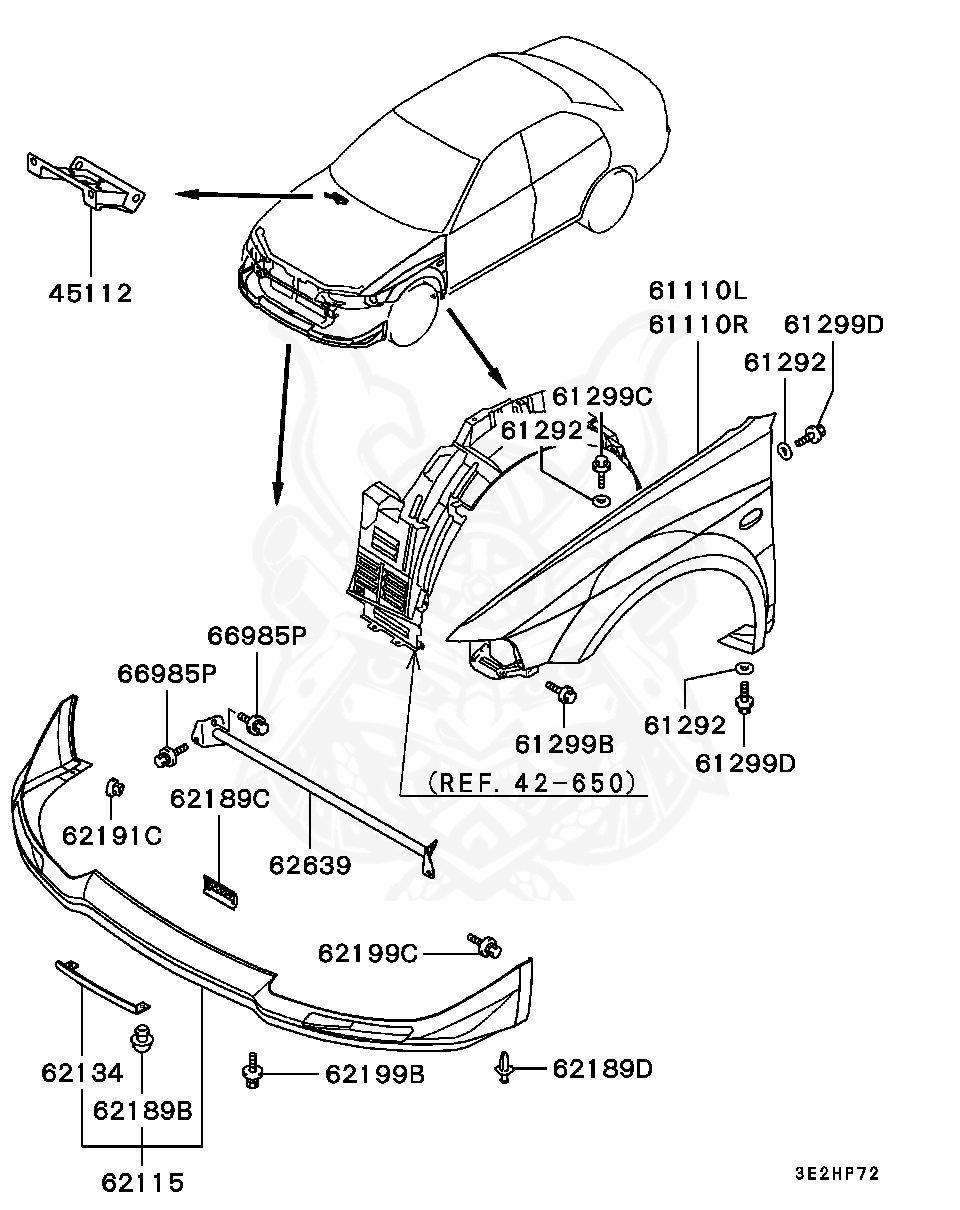 Mitsubishi Lancer Evolution Engine Diagram