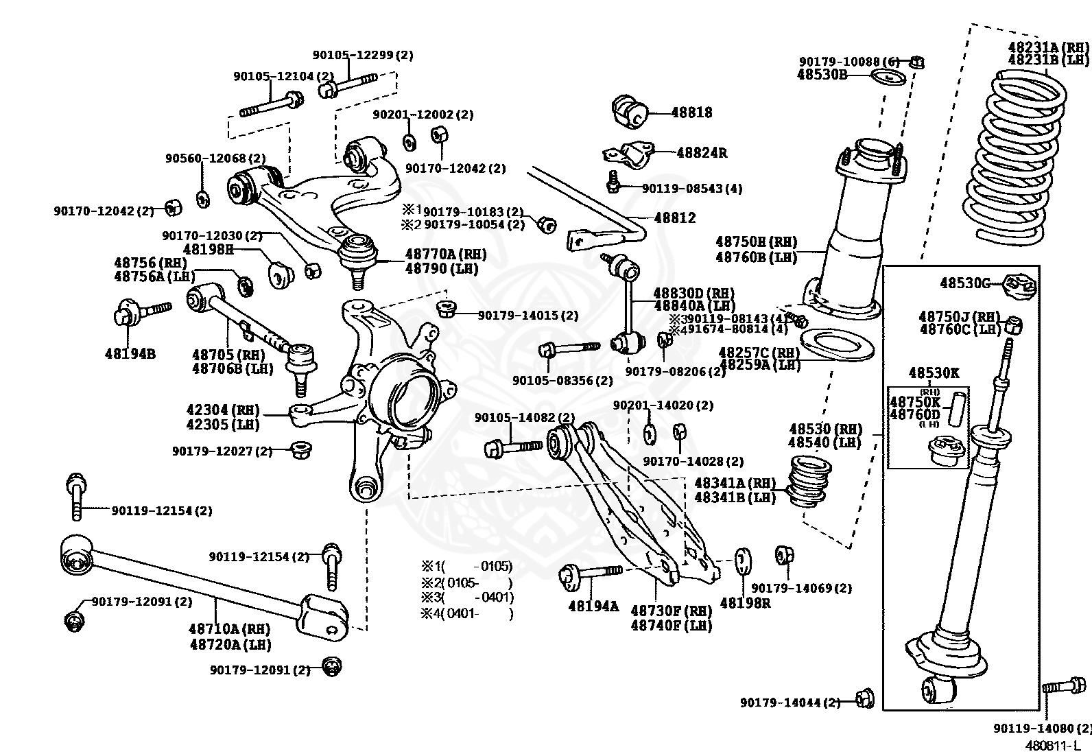Altezza Engine Diagram