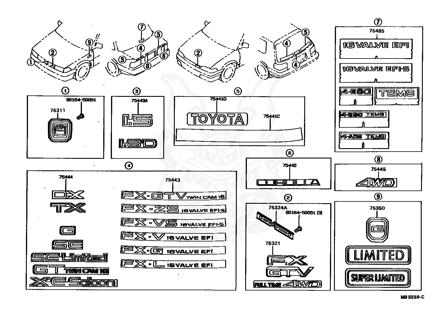 Toyota Corolla Carburetor Diagram