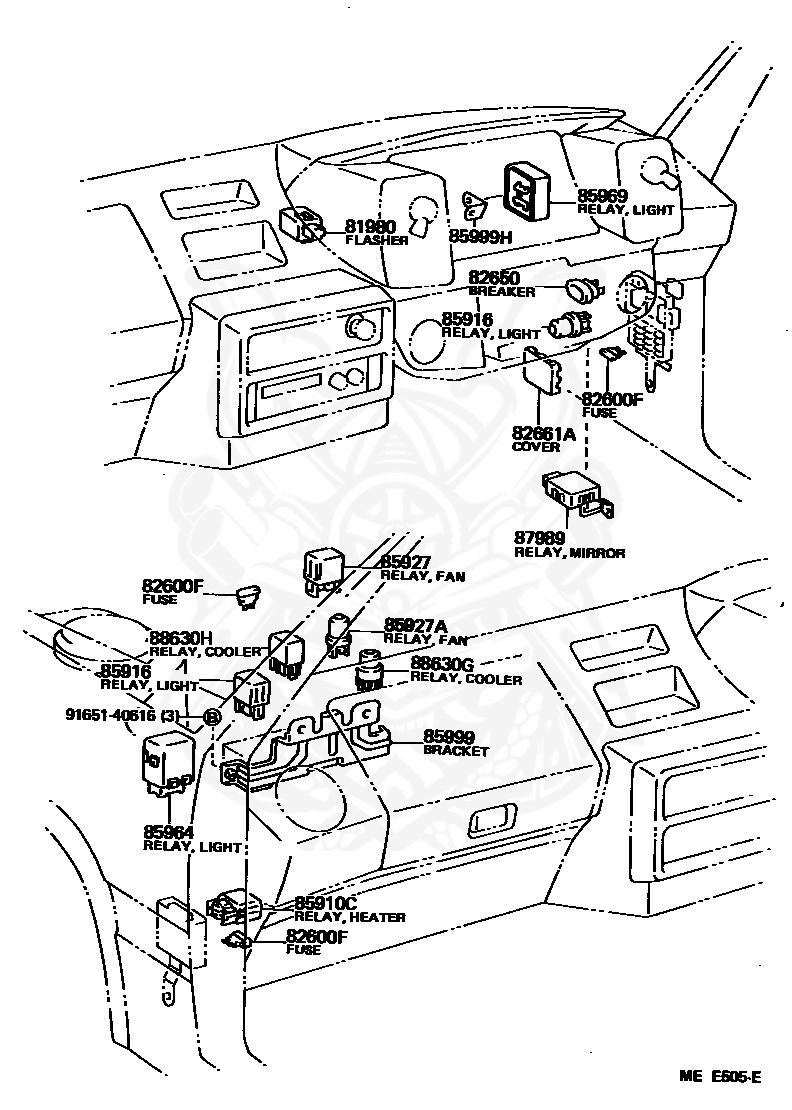 File: 1989 Toyotum Celica Fuse Box