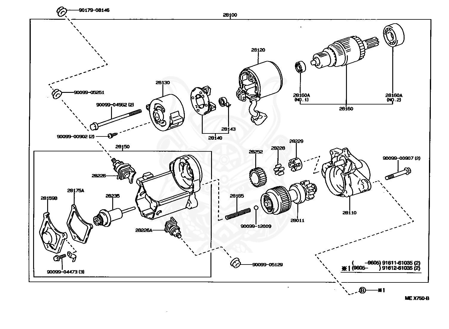 Toyotum Camry Engine Part Diagram