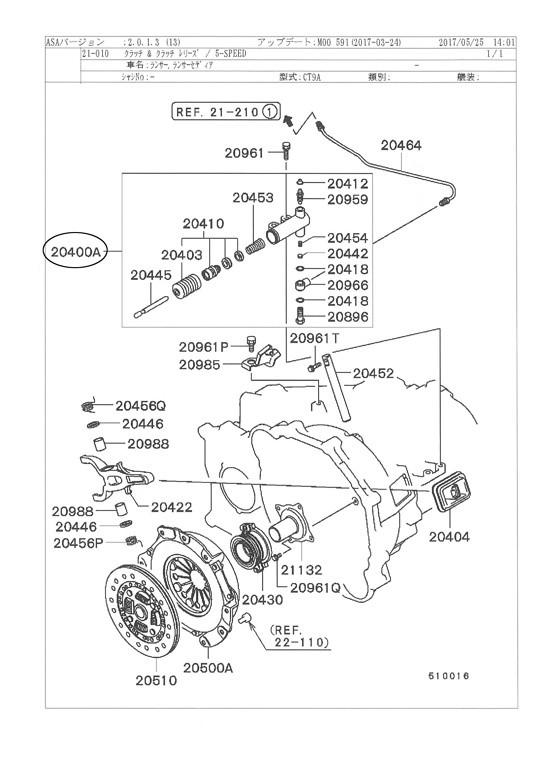 Mitsubishi Lancer Evolution 7 Evo Vii Service Repair Manual 2001