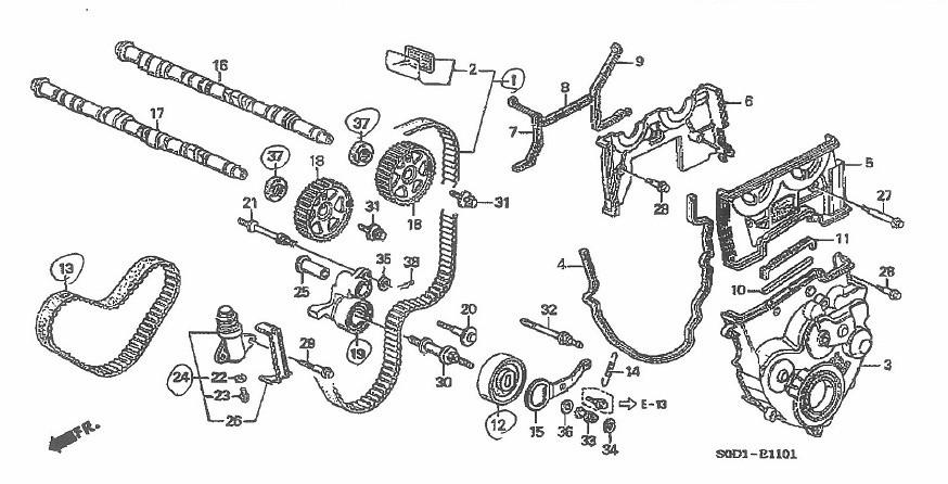 Parts: Oem Honda Parts
