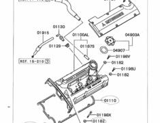 Oem Parts: Oem Parts Mitsubishi