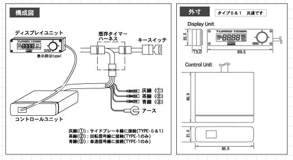 apexi turbo timer wiring diagram Wiring Diagram – Blitz Turbo Timer Wiring Diagram