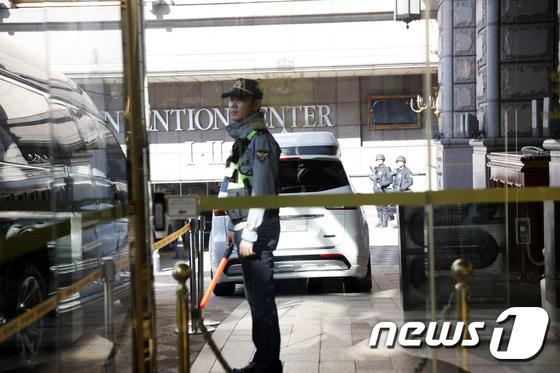 정은지 참석 '언터처블' 폭탄물 신고로 보완 강화