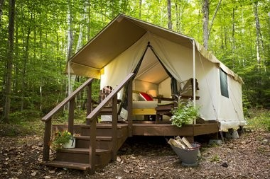 Treehouses glamping a teepee and more 10 quirky