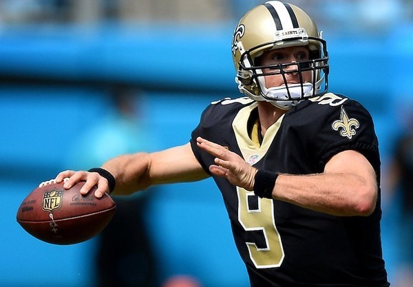 New Orleans Saints quarterback Drew Brees will face the Atlanta Falcons on Sunday. (Jeff Siner | Charlotte Observer | TNS)