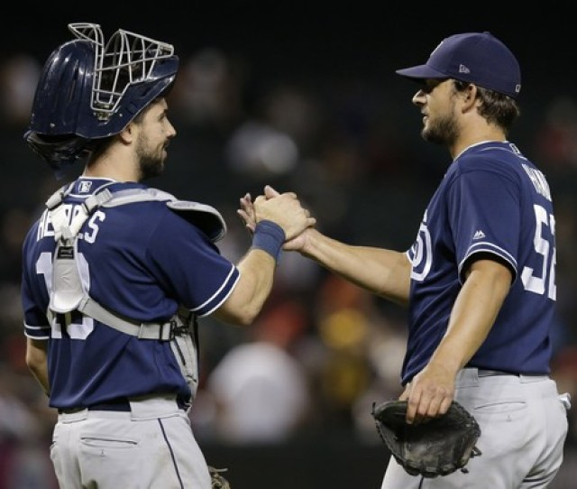 Will The San Diego Padres Trade Pitcher Brad Hand Right Ap Photo
