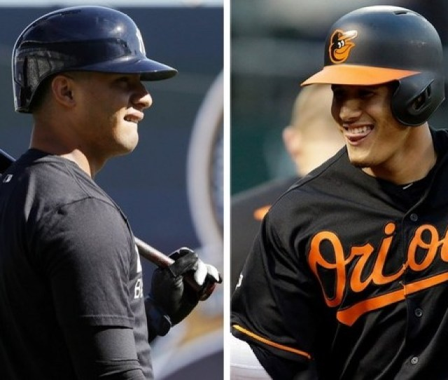 Would The Yankees Consider Flipping Top Prospect Gleyber Torres For Manny Machado Ap Photos