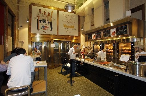 Eataly superstore in New York has the whole range of