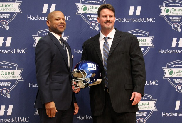 Image result for Ben Mcadoo Jerry Reese