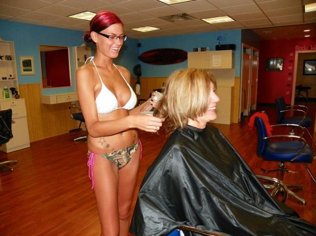 burlington high chair cream crushed velvet covers sex sells at this jersey shore barbershop | nj.com