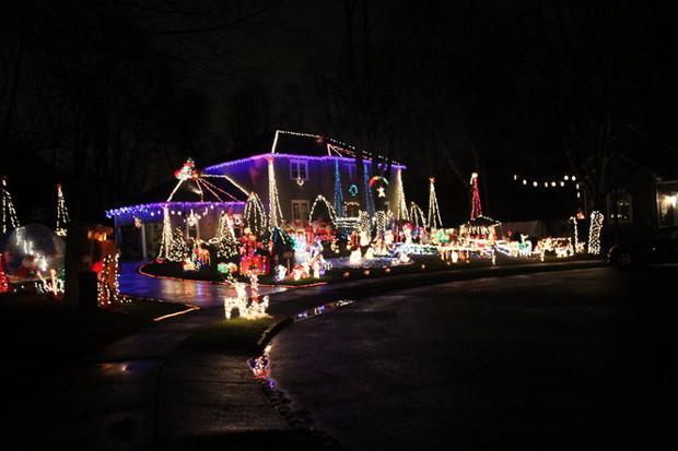 Fantasy Morristown Christmas Lights Raise Money For Make A Wish Foundation