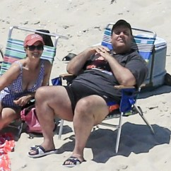 Burlington High Chair Comfortable Gaming Christie Scorched By National Criticism For Visit To Closed N.j. Beach | Nj.com