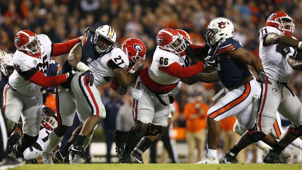 Image result for Auburn Tigers vs. Georgia Bulldogs