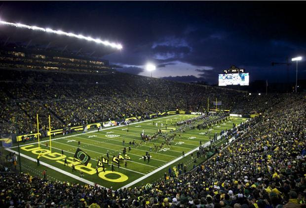 NCAA names Oregons Autzen Stadium the nations secondloudest college football stadium