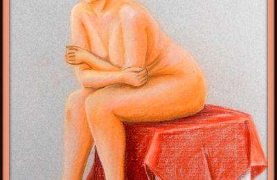 nu a la chaise carolinepc40 peintures