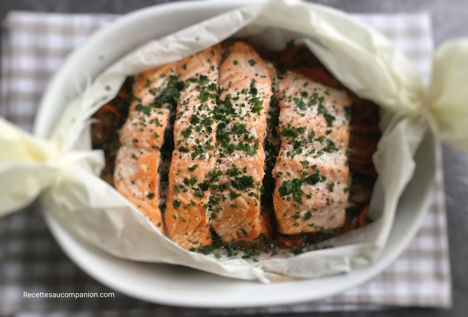 recettes de sandrine au companion ou